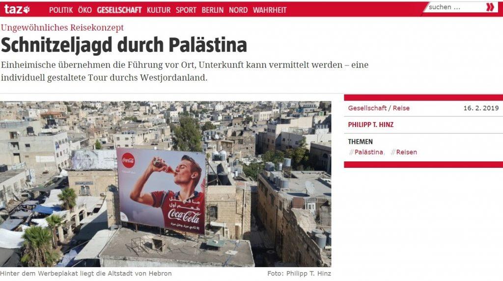 Stories of Palestine in TAZ